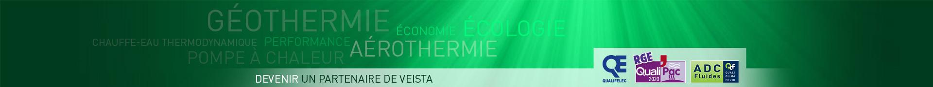 Veista, climatisation, géothermie, aérothermie, chauffe-eau thermodynamique, plancher chauffant, pompe à chaleur, Nantes, La Baule, Guérande, 44